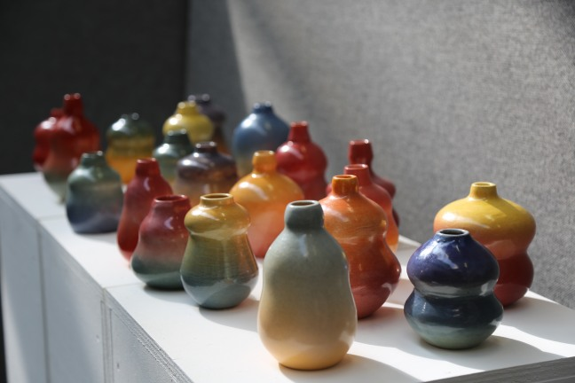 CSM vases display